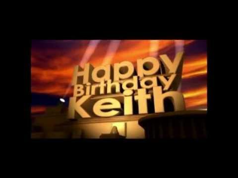 happy birthday keith youtube