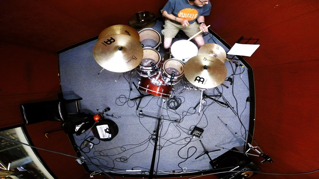 Anatomy Of A Recording Session: The Drum Track - YouTube