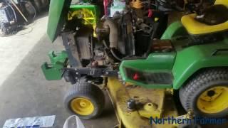 John Deere 445 Oil change