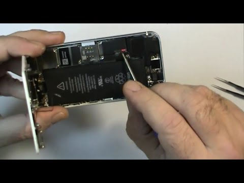 iphone 5s in acqua smontaggio analisi lavaggio prima parte