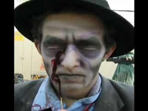 Shovel Man, The Transformation - Fright Fest '08 - Six Flags