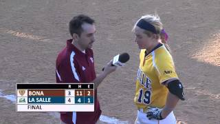 Reis Hits Walk-Off Homer to Advance in A-10 Championship