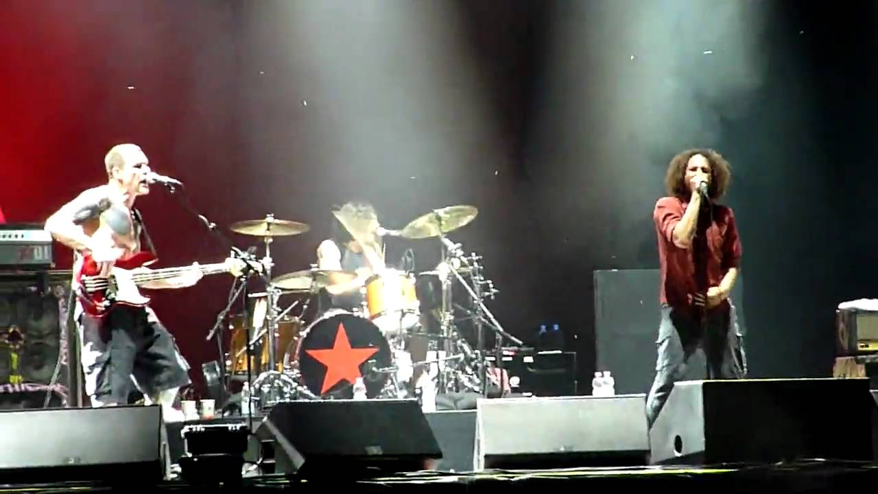 rage against the machine live and