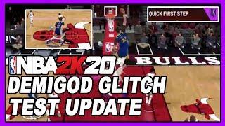 NBA 2K20 *UPDATE* DEMIGOD HOF BADGE GLITCH STEPS TESTED BY DENSKI!