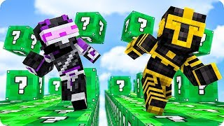 CARRERA DE LUCKY BLOCKS DE SLIME EN MINECRAFT 😱