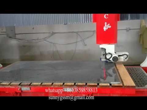 VI 5axis bridge saw for granite marble sanstone