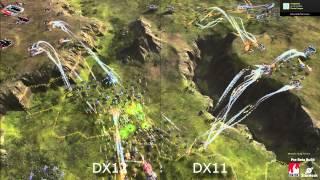 Ashes of the Singularity DX12 Vs DX11 Nvidia Titan X