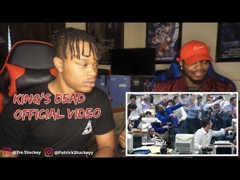 Kendrick Lamar, Jay Rock, Future, James Blake - King's Dead (Music Video) - REACTION
