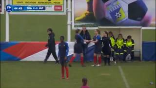 Agathe Maetz (France U20) vs Japon
