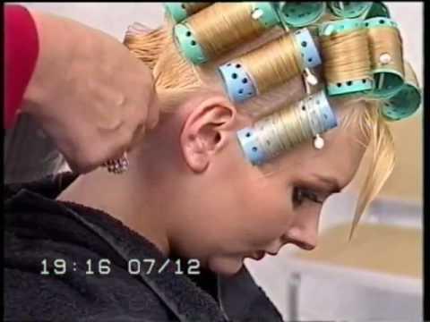 Rollerset blonde