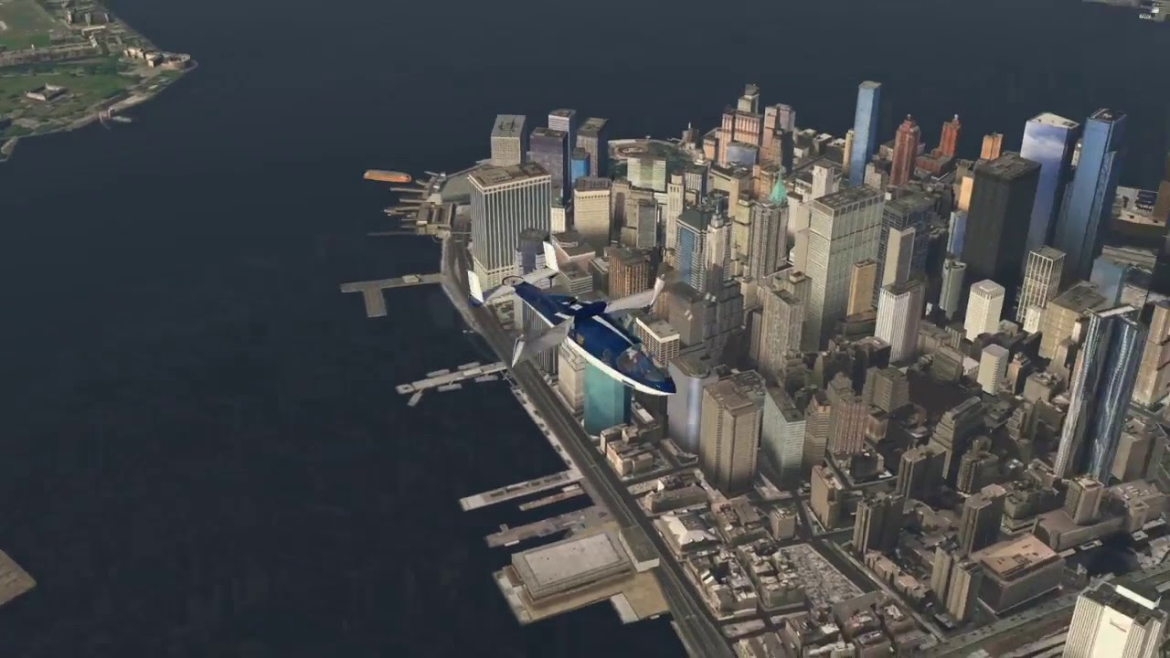Flying taxi to travel from Boston to New York in 36 minutes