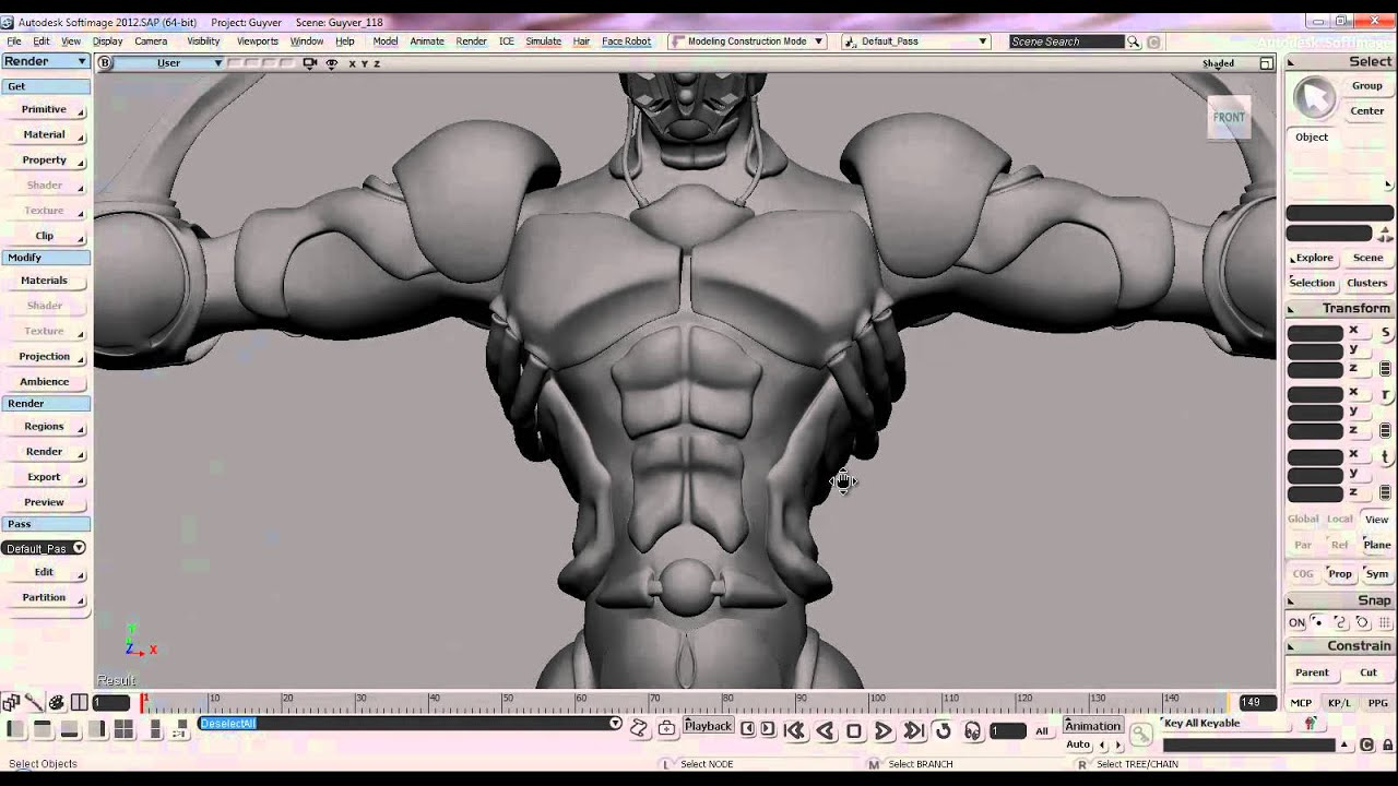 guyver bio boosted armor 3d model guyver bio boosted armor 3d model