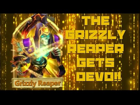 Castle Clash Double Evolving Grizzly Reaper
