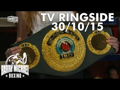 Barry Michael Presents - TV RINGSIDE - October 30th 2015 - Full Broadcast