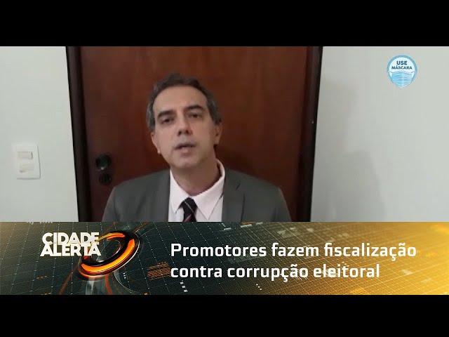 Promotores fazem fiscalização contra corrupção eleitoral em Arapiraca
