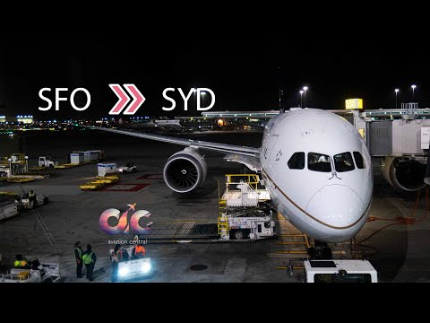 United 787 / San Francisco to Sydney [SFO - SYD] / Economy / Welcome Aboard