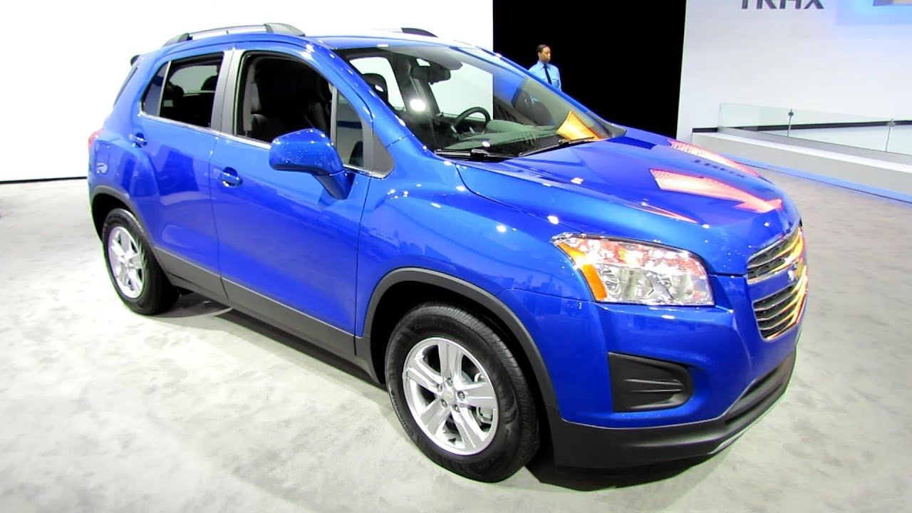 2015 Chevrolet Trax Lt Exterior And Interior Walkaround Debut At 2014 New York Auto Show