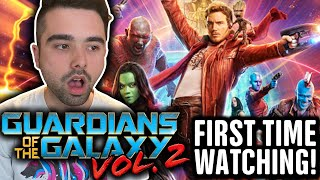 WATCHING GUARDIANS OF THE GALAXY VOL 2 FOR THE FIRST TIME!! GUARDIANS VOL2 (2017) MCU MOVIE REACTION