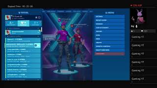 Playing Fortnite tryna get arena point's (I'm at 1265 i think)
