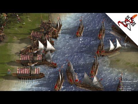 Cossacks 3 - 2v2v2 MASSIVE NAVAL LANDINGS | Multiplayer Gameplay