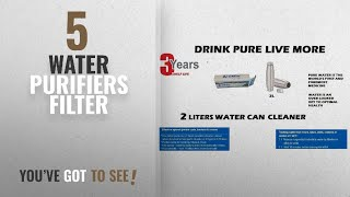 Top 10 Water Purifiers Filter [2018]: Ef-Chlor, Water Purification Tablets, 1 Tablet Purifies 1-2