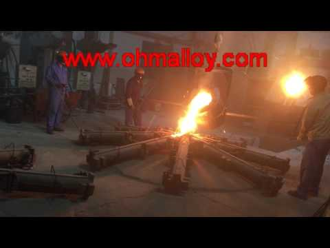 Induction furnace for melting the FeCrAl alloy