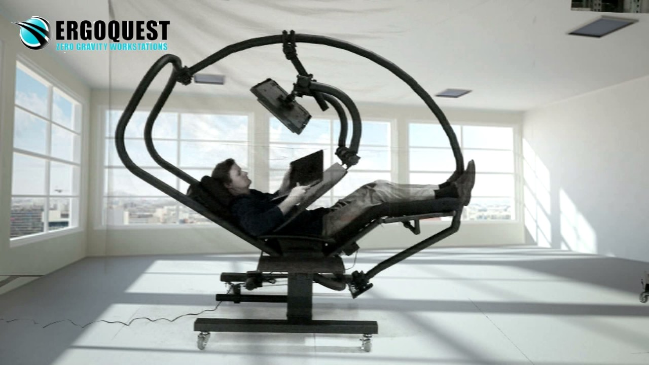 Ergoquest zero gravity chairs and workstations - Try Ad Free For 3 Months