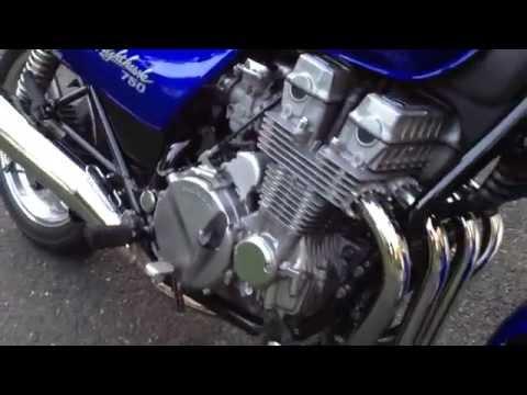 Honda cb750 Nighthawk - YouTube
