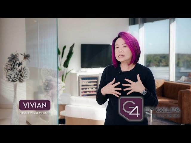 G4 By Golpa - Patient Testimonial - Vivian L