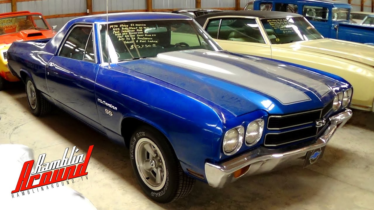 1970 Chevrolet El Camino SS Trim  YouTube
