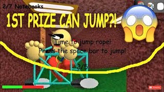 1ST PRIZE CAN JUMP ROPE?! | Baldi