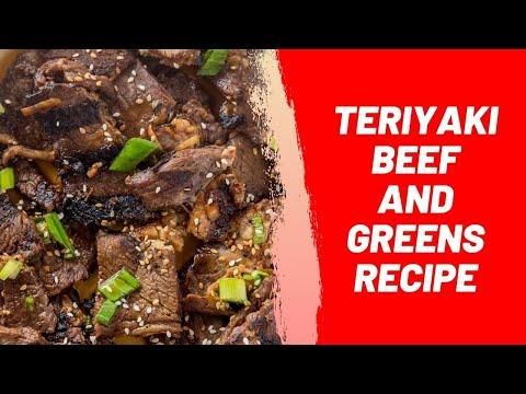 Teriyaki Beef and Greens Recipe