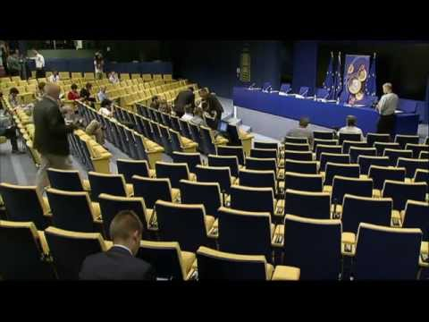 Press Conference On Adoption Of The Euro By Latvia