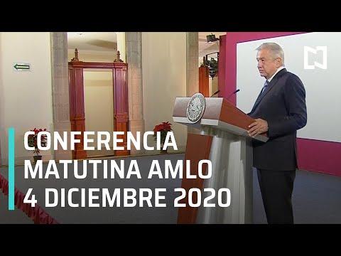 Conferencia matutina AMLO / 4 de diciembre 2020