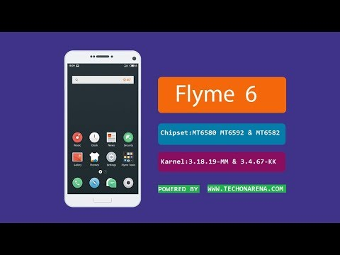 Flyme 6 - 6 6 7 15R Custom Rom For MT6580,MT6592 and MT6582 Marshmallow ROM