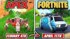 Top 5 Things Fortnite COPIED From APEX LEGENDS!