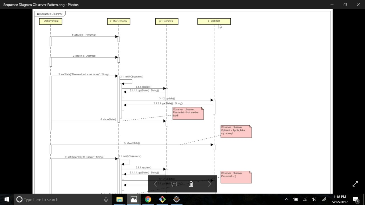 hight resolution of automatically sequence diagram generator from java code