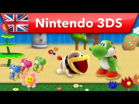 Poochy & Yoshi's Woolly World - New Features Trailer (Nintendo 3DS)