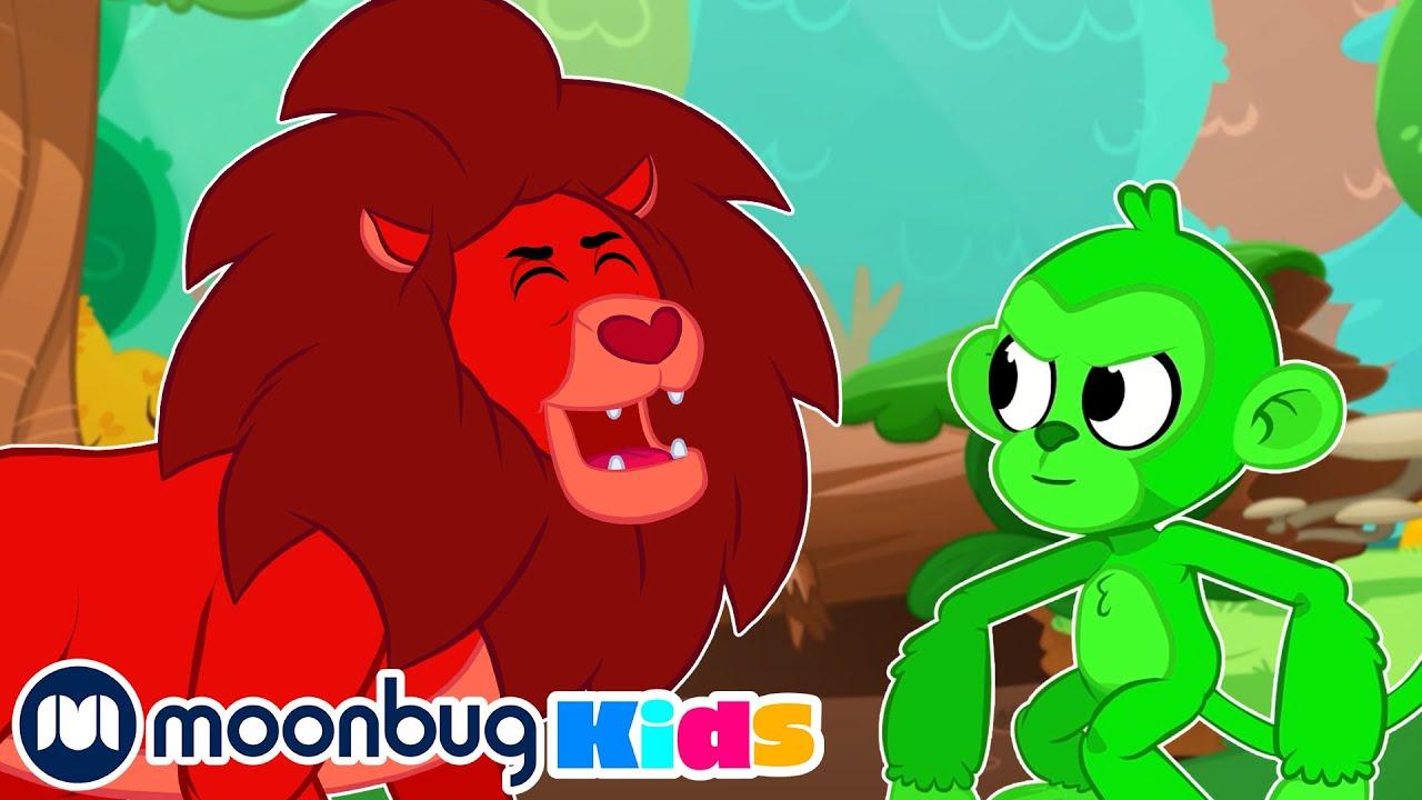 MORPHLE - Animal Spotting with Orphle   Moonbug Play and Learn