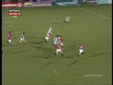 Ulster v Llanelli Scarlets 27/01/06 Andy Maxwell's try