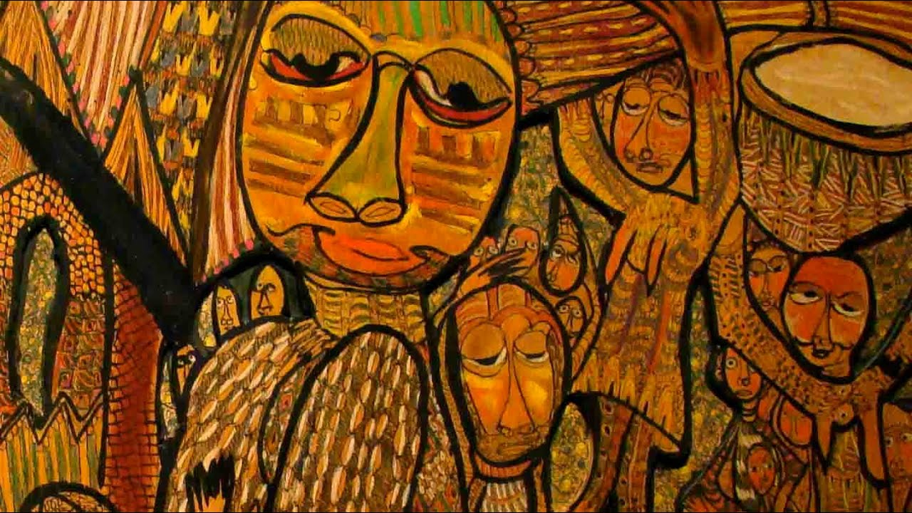 African Art Paintings Meaning