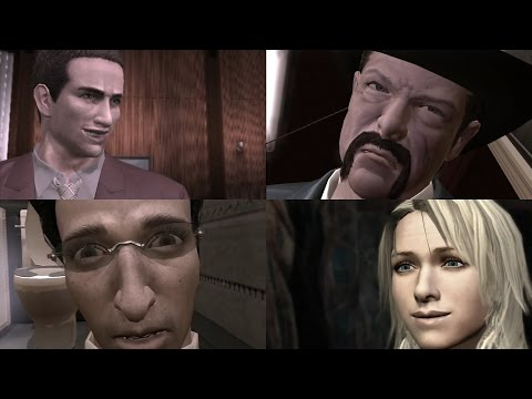 Two Best Friends Play Deadly Premonition Compilation (Redux)
