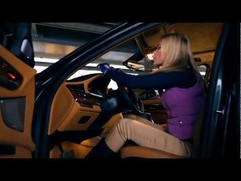 BMW 760 Li Тест драйв в программе Москва рулит.
