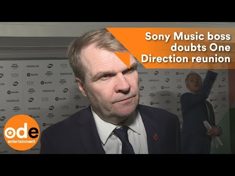 Sony Music boss doubts One Direction reunion Mp3
