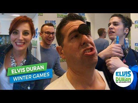 Elvis Duran Winter Games | Elvis Duran Exclusive