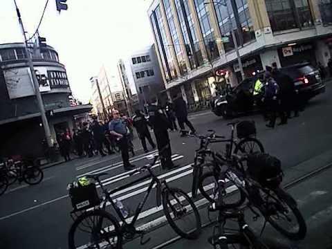Seattle MLK BREAK OFF PROTEST 2015 SEATTLE POLICE BODY CAM PART 1.5