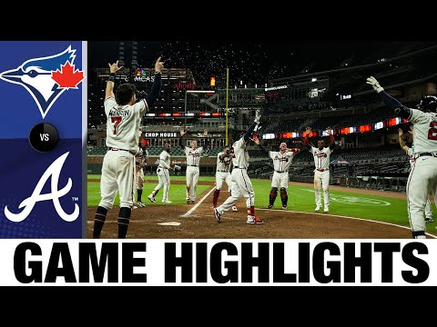 Nick Markakis's walk-off homer powers Braves | Blue Jays-Braves Game Highlights 8/6/20