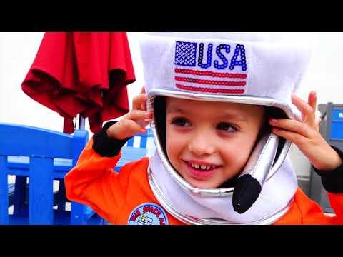 Vlad And Nikita Want To Be Astronauts