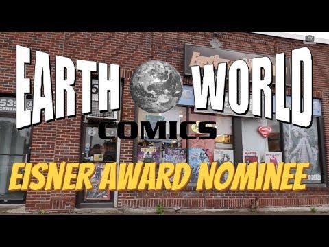 Earthworld Comics - Eisner Award Nominee 2017