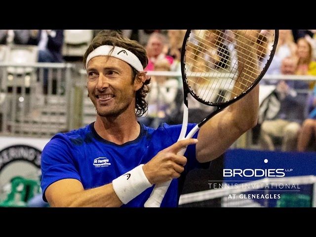 Ferrero v Henman: Brodies Tennis Invitational 2019 final